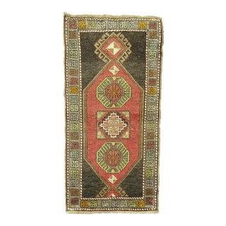 Asian Inspired Anatolian Rug - 1'8'' x 3'1''