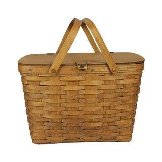 Vintage Longeberger Picnic Basket