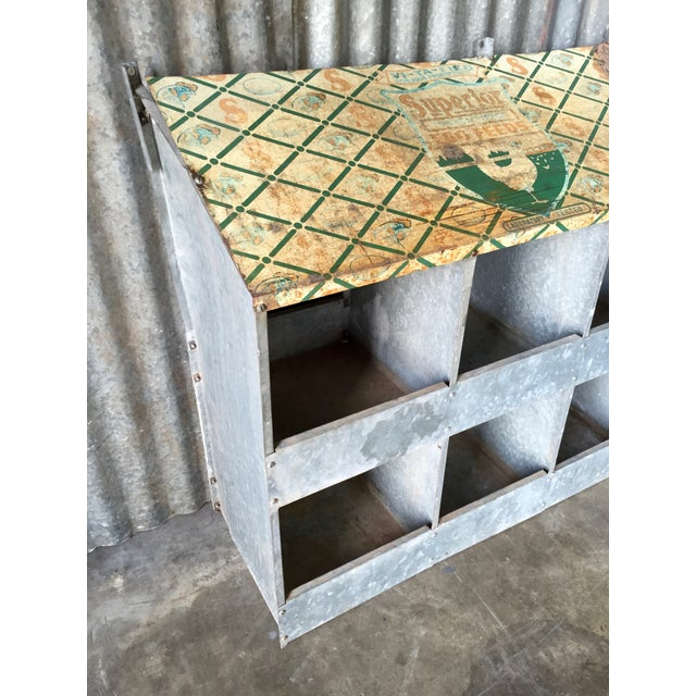 Vintage Chicken Coop Industrial Shelving - Image 4 of 8