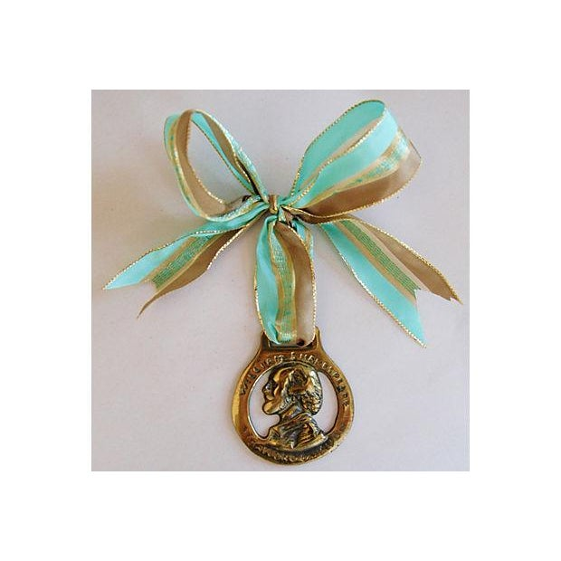 English Brass Horse Ornaments - Set of 3 - Image 3 of 6