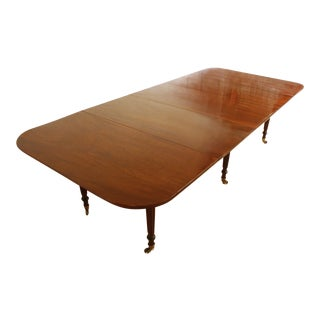 ENGLISH REGENCY DINING TABLE IN THE MANNER OF GILLOWS
