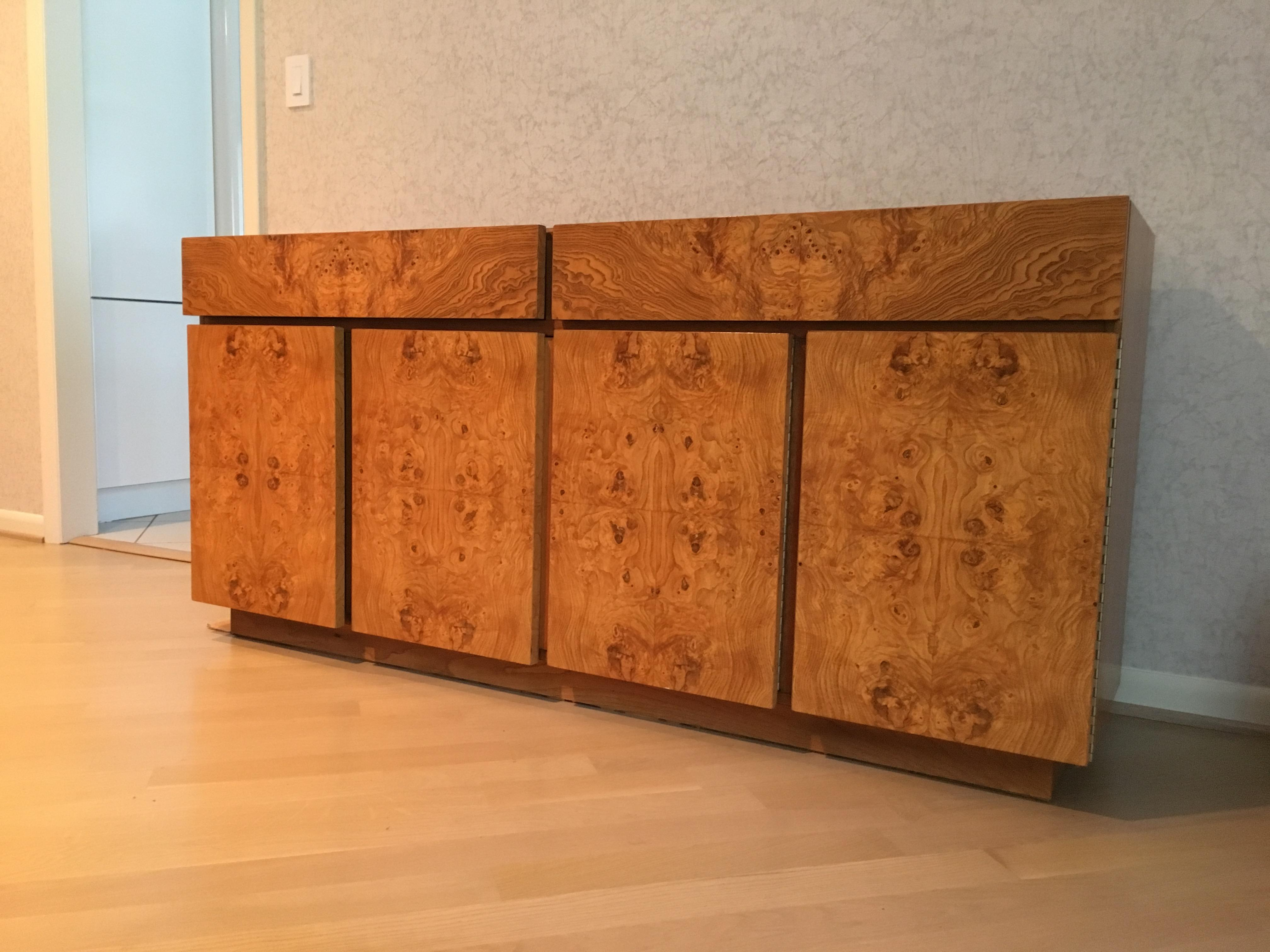 lane furniture burl wood credenza image 2 of 5