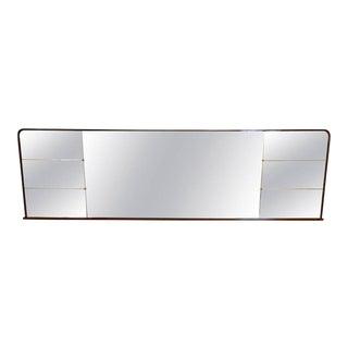 Massive Mid Century Modern Mirror, Osvaldo Borsani