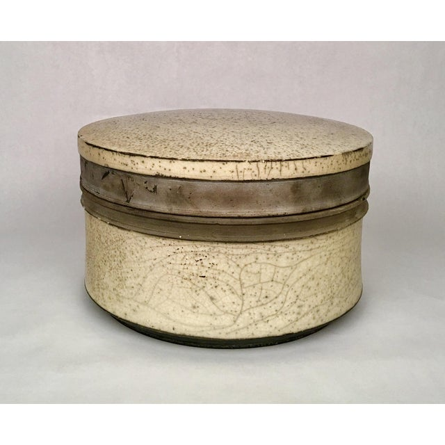 Russell Kagan Signed Lidded Bowl - Image 3 of 4