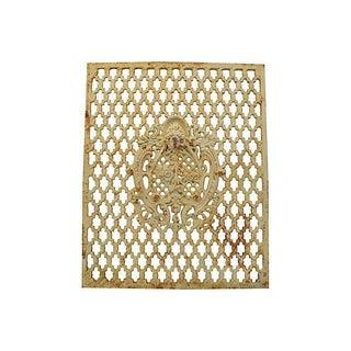 Architectural Iron Lattice Panel