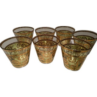 Culver 22k Gold Glassware - Set of 7
