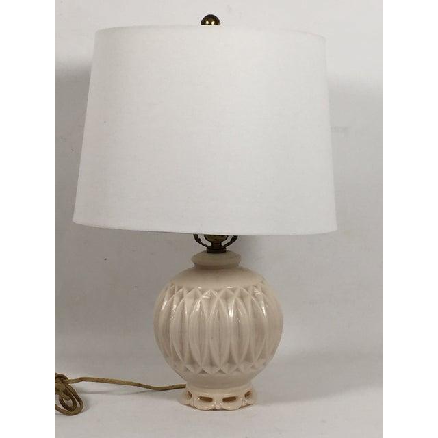 Alladin Alacite Illuminated Ivory Lamp - Image 2 of 6