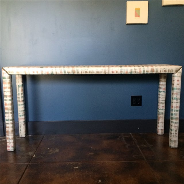 Upholstered Sofa Table - Image 5 of 11