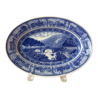 Commemorative Railroad Ware Plate