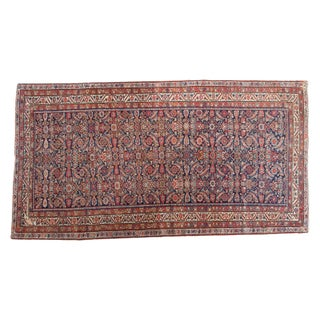 "Antique Malayer Rug Runner - 5'2"" X 9'9"""