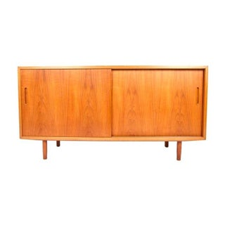 Small Danish Modern Teak Sideboard