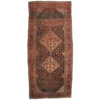 "RugsinDallas Antique Persian Shiraz Wool Runner - 6'7"" X 14'"