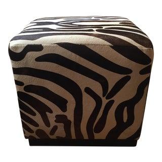 William Sonoma Pony Hair Robertson Cube