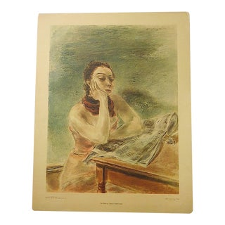 Vintage Kuniyoshi Lithograph