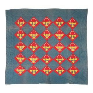 Modern Geometric Cotton Quilt