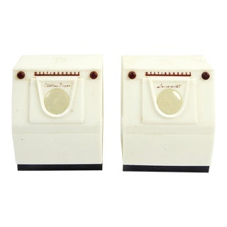 Washer Dryer Salt & Pepper Shakers