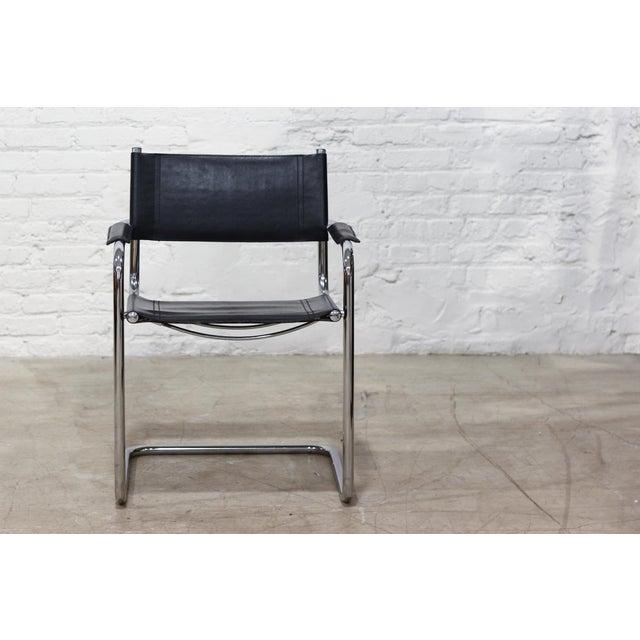 Tubular Chrome Cantilever Chair - Image 2 of 5