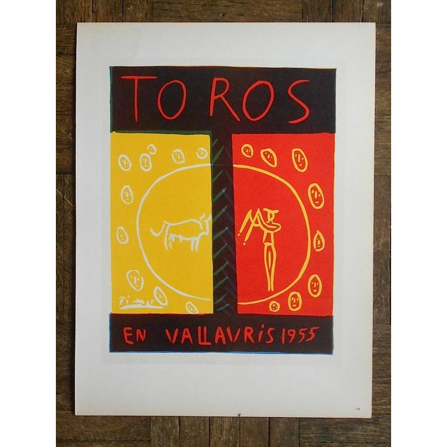 Image of 1959 Picasso Mid 20th C Modern Lithograph