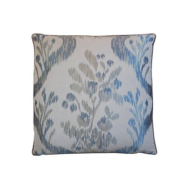 Custom Tailored Old World Weavers Jacquard Silk Feather/Down Pillow - Image 6 of 6