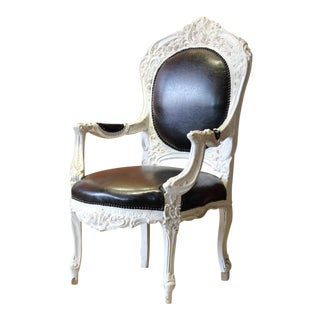 Victorian Bergere Arm Chair