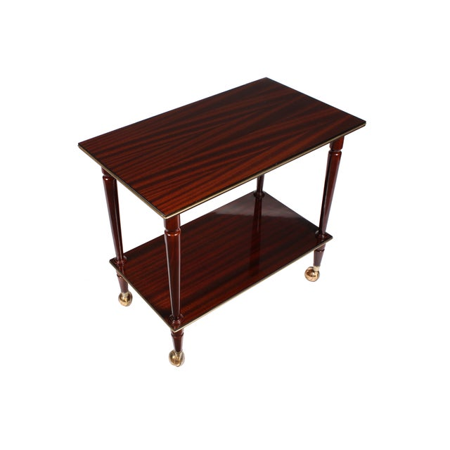 Image of 1950s English Bar Cart