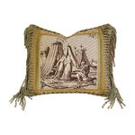 Image of Designer Jane Shelton French Toile Accent Pillow