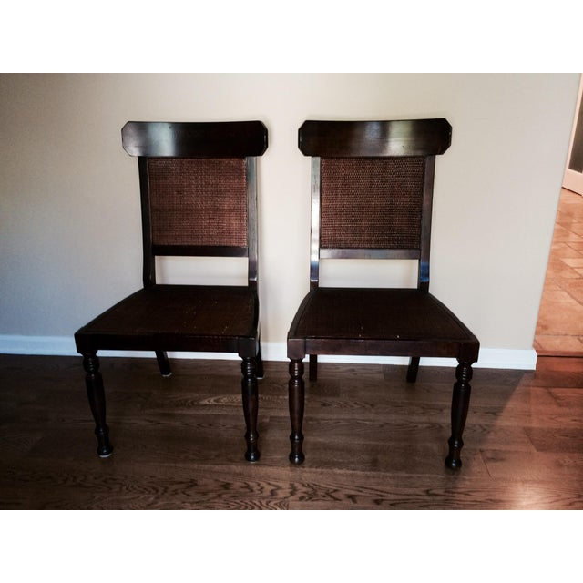 Image of Milling Road Regency Dining Side Chairs - A Pair