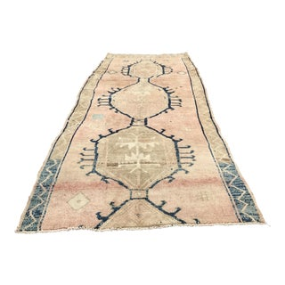 Antique Turkish Oushak Runner - 5' x 11'10""