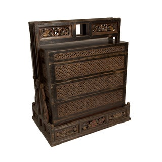 Carved Wedding Chest