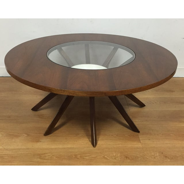 Broyhill Brasilia Cathedral Coffee Table - Image 2 of 9