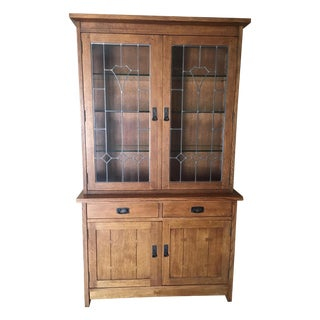Stickley Two-Door Buffet with China Top