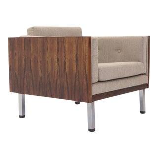 Rosewood Case Lounge Chair by Jydsk Møbelværk