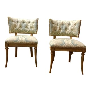 Hickory Chair Co. Gabrielle Chairs - A Pair