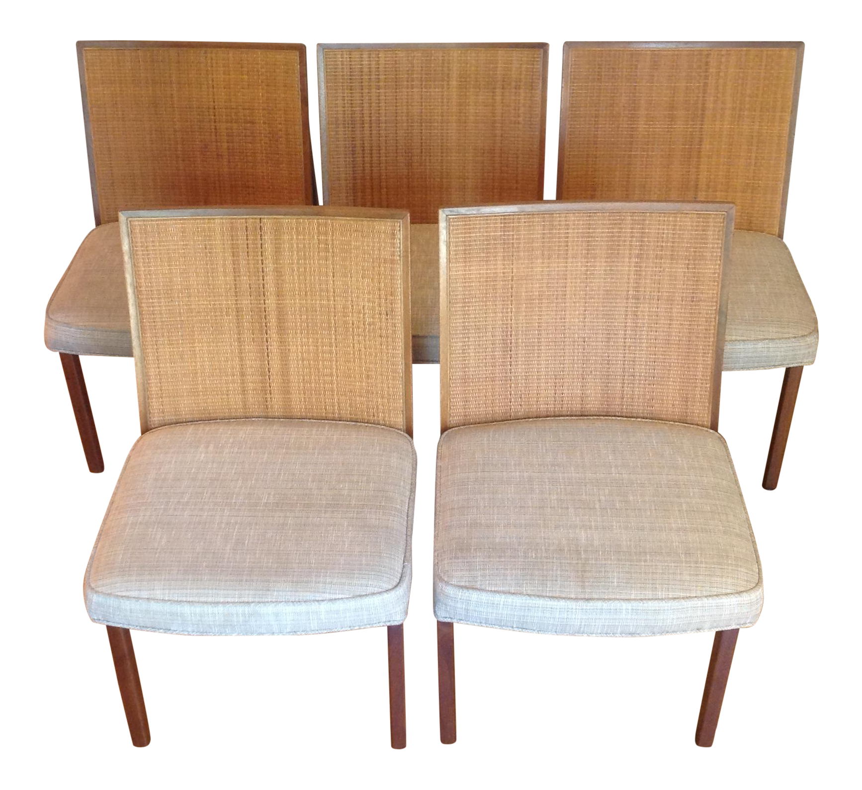 George Nelson Dining Chairs For Herman Miller   Set Of 5