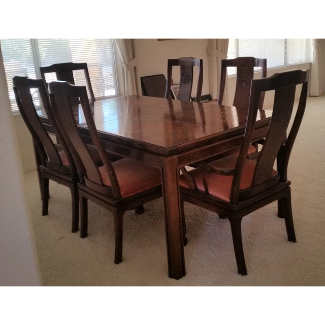 Vine Bernhardt Shibui Dining Table 6 Chairs Chairish