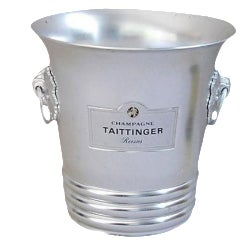 French Taittinger Champagne Ice Bucket
