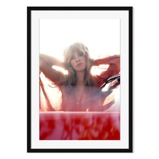 """Stevie Nicks of Fleetwood Mac"" Framed Photograph"