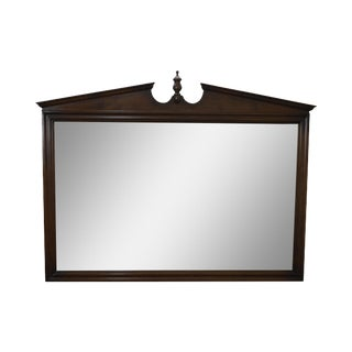 Ethan Allen Vintage Maple Hanging Wall Mirror