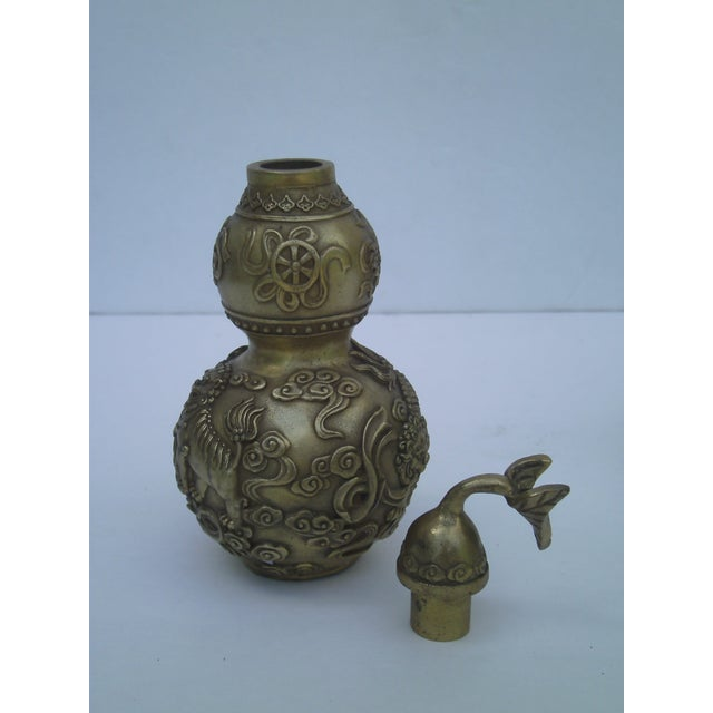 Image of Bronze Covered Jars - A Pair