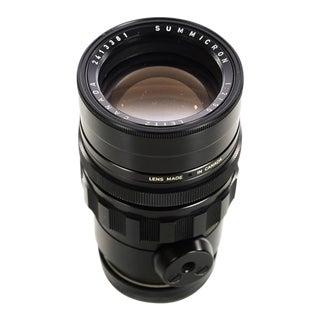Leitz Canada 90mm f:2 Summicron Black -Vintage Leica M portrait lens
