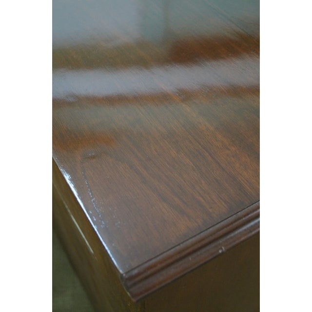 Craftique Solid Mahogany Chippendale Style Dresser - Image 7 of 10