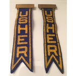 Image of Vintage Usher Pins - A Pair