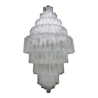 Tiered 1970s Murano Glass Chandelier