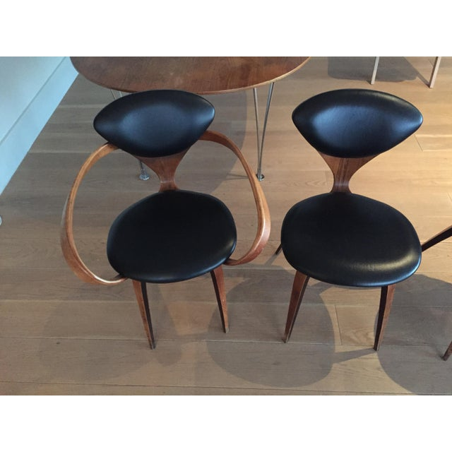 Norman Cherner Antique Chairs - Set of 4 - Image 9 of 11