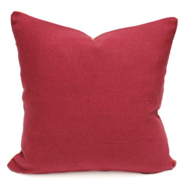 Noble Bagh Phulkari Pillow - Image 2 of 3