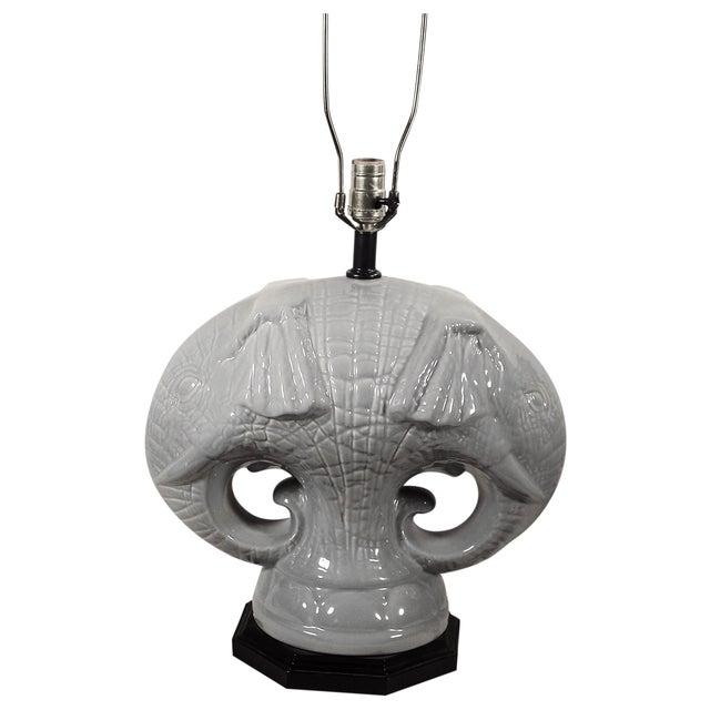 Image of Elephant Head Table Lamp