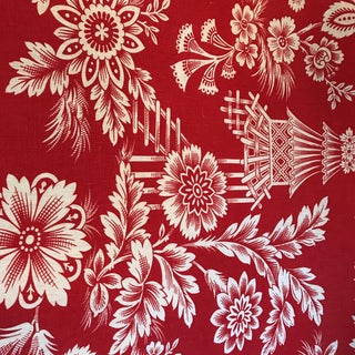 Schumacher Song Garden Lacquer Linen 6 1/2 Yards