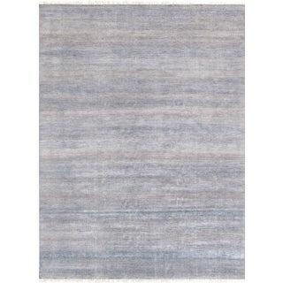 "Pasargad Transitiona Silk & Wool Rug - 8'10"" X 12' 2"""