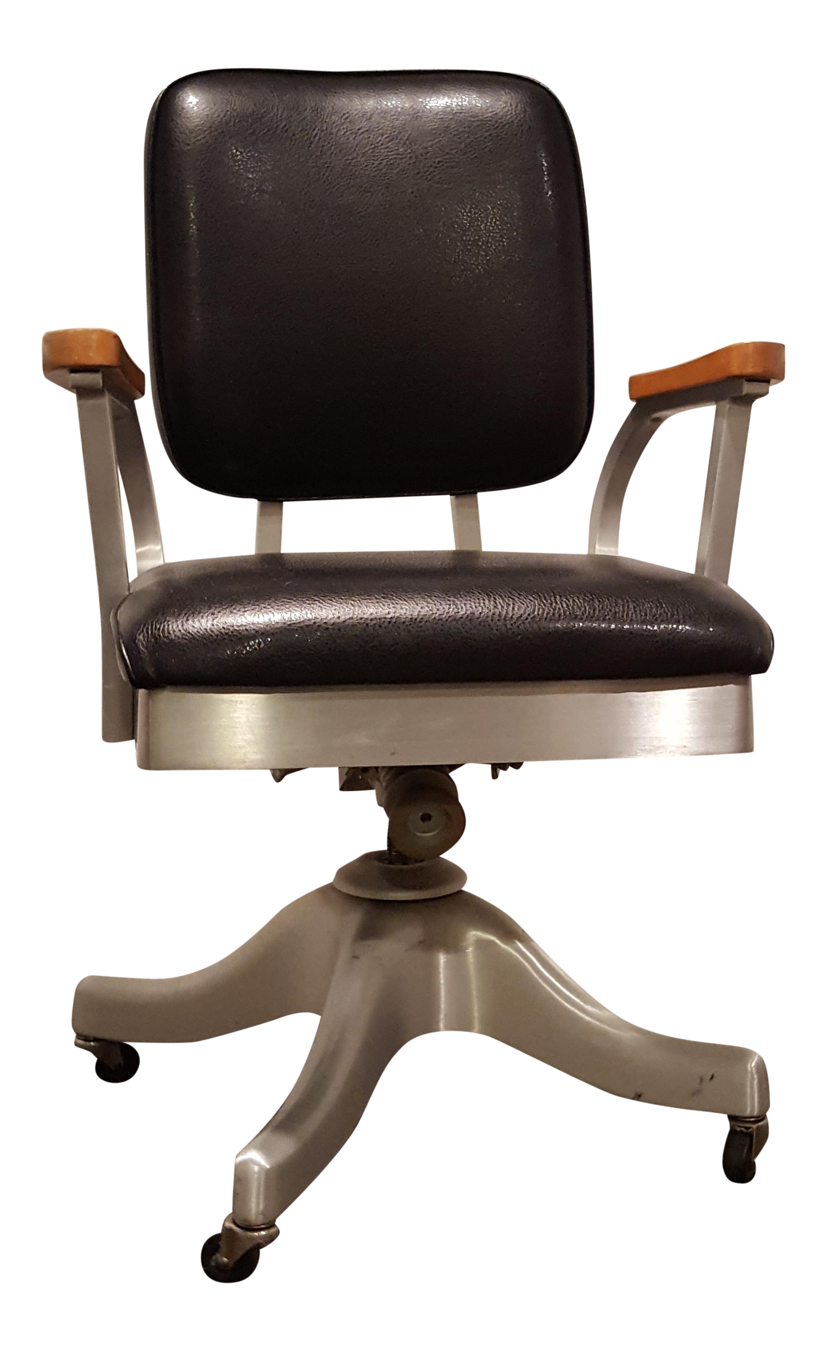 industrial style office chair. vintage shaw walker propeller swivel office chair industrial style s