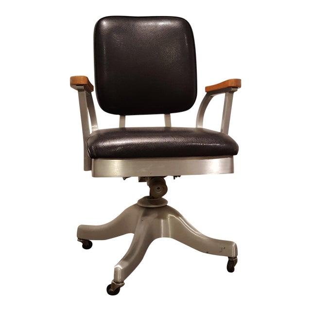 Vintage Shaw Walker Propeller Swivel Office Chair - Image 1 of 8 - Vintage Shaw Walker Propeller Swivel Office Chair Chairish